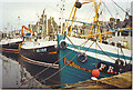 NJ9967 : Fishing Boats in Fraserburgh Harbour. by Colin Smith