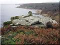 SW4322 : Boscawen Point by Sheila Russell