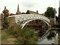 TL2470 : Chinese Bridge, Godmanchester, Cambs. by Robert Edwards