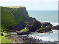 C9444 : Camel's Back, Giants Causeway by Linda Bailey