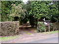 TA0760 : The track to Lowthorpe Church by Andy Beecroft