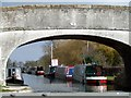 SJ6157 : Narrowboats at Barbridge junction by Nigel Williams
