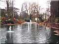 SP0681 : Ornamental pond in King's Heath Park by Phil Champion