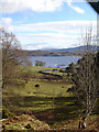 NM9735 : Loch Etive from Baile Mhaodain Church by Christine Campbell