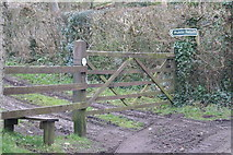 ST5959 : Gate & Stile by Adrian and Janet Quantock