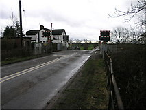 SK7099 : Raised Level Crossing by Michael Patterson
