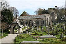 SW7340 : Gwennap Parish Church by Tony Atkin