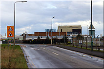 TA2411 : Looking towards the Novartis plant. by David Wright