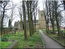 SK4456 : St Michael's Church South Normanton by Mike Bardill