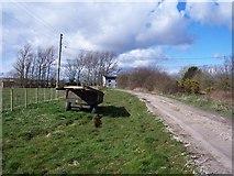 NY1854 : Whitehill Farm. by John Holmes