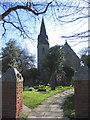TQ5786 : All Saints Church, Cranham by John Winfield