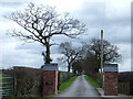 SJ6878 : Entrance to what used to be Kays Farm by michael ely