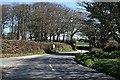 SW7640 : Road Junction east of Frogpool by Tony Atkin