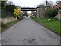 SK5289 : Railway and Footpath by Michael Patterson