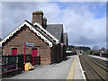 NY5439 : Lazonby Railway Station by Chris Upson