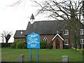 SJ7654 : St Luke's, Oakhanger by Steve Lewin