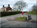 SJ7273 : Junction of Hulme Lane & Back Lane by Ian Warburton