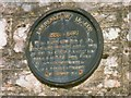 SX4952 : T.E. Lawrence plaque, Turnchapel 1997 by E Gammie