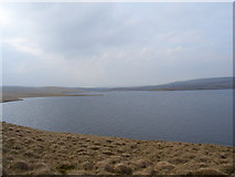 NY7930 : Cow Green Reservoir by Andrew Smith