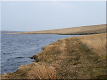 NY8029 : Cow Green Reservoir by Andrew Smith