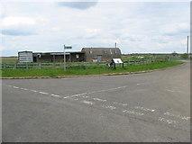 TL1593 : Farm Buildings near Peterborough by Mike Bardill