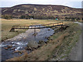 NO1970 : Footbridge in Glen Isla by Lis Burke