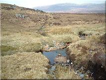 NN3663 : Track from Blackwater reservoir crossing Allt an Lagain by Chris Wimbush