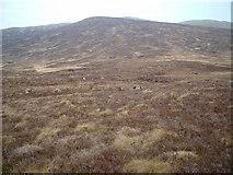 NN3865 : Moorland across the Allt a' Choire Odhaire Bhig by Chris Wimbush