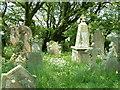 SW9558 : St Dennis Graveyard by Mark Camp