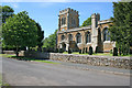 Dist:0.2km<br/>15th century church primarily built of ironstone with limestone detailing.