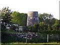 SH4878 : Derelict windmill by Nigel Williams