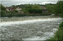 ST6968 : Swineford Weir by Pierre Terre