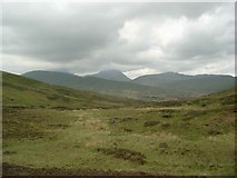 NN6712 : On the bealach between Uamh Bheag and Meall Leathan Dhail by Gordon Brown