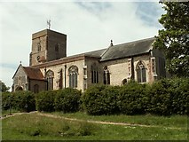 TM0838 : St. Mary's church, Capel St. Mary, Suffolk by Robert Edwards