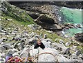 SW4136 : Climber at Bosigran by Espresso Addict