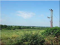 SP9821 : Totternhoe - view from Castle Hill Road by Rob Farrow