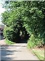 TL0218 : Hollick's Lane - Southern End by Rob Farrow