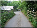 SX0559 : Approaching Roseny Mill by Phil Williams