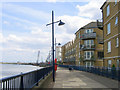 TQ5177 : riverside apartments, Erith by Stephen Craven