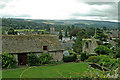 SO3700 : View from Usk Castle by Jackie Harman