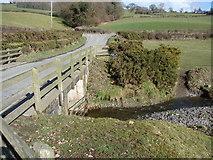 SN9992 : Bridge over the Colwyn Brook, near Caersws by John Lucas