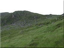 NX4590 : Crags on eastern side of Gordons Loup by Chris Wimbush