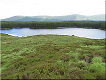 NX4594 : Ballochling Loch by Chris Wimbush
