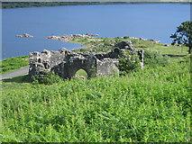 NX4895 : The reerected Loch Doon castle by Chris Wimbush