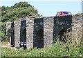 SW9874 : Trewornan Bridge by Tony Atkin