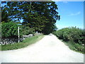 NY5718 : Public bridleway to White Stones by Alexander P Kapp