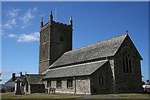 SW9271 : St Issey Church by Tony Atkin