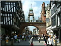 SJ4066 : Chester, The Eastgate Clock by Neil Kennedy