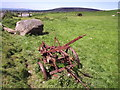 SN0235 : Old machinery in upland pasture, Mynydd Melyn by ceridwen