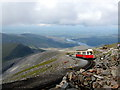 SH6054 : Snowdon Mountain Railway by John Lucas